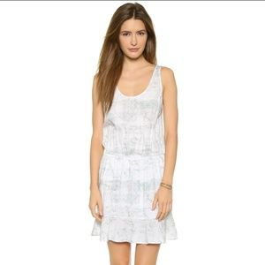 Joie Soft Farrell Dress Porcelain Small Ruched Min